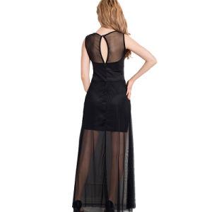 Hot Sale Women Slim Sexy Long Evening Dress pictures & photos
