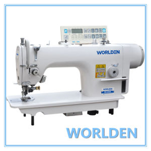 Wd-5200d High Speed Side Cutter Lockstitch Industrial Sewing Machine pictures & photos