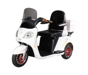 New Style 3 Wheel Electric Mobility Scooter Trike, Electric Disabled Tricycle with Windshield pictures & photos