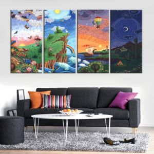 Factory Custome Canvas Prints Wall Painting. Canvas Painting Made in China pictures & photos