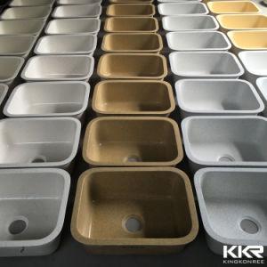 Modern White Solid Surface Undermount Sinks Kitchen pictures & photos