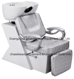 Whith Color Shampoo Chair Unit Shampoo Bed Unit for Sale pictures & photos