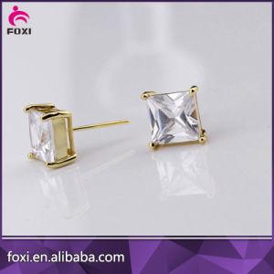AAA Grade Zirconia Stud Earring for Women pictures & photos