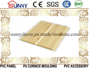 Building Materials Plastic Lamination Wood Panel PVC Ceiling, Decorative Wall Panel pictures & photos