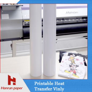Printable Heat Transfer Vinyl for Garment Roll Size pictures & photos