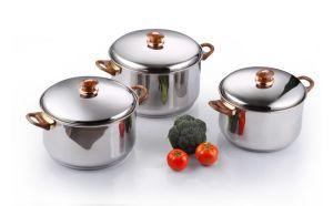 Stainless Steel Cookware Set-6 PCS Pot Set, Soup Pot, Casseroles pictures & photos