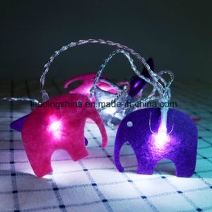 Elephant Shape High Efficiency 100 LED Bright Outdoor String Lights for Fence Patio Garden pictures & photos