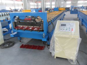 Roof Wall Metal Steel Roll Forming Machine pictures & photos