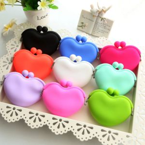 Cute Silicone Coin Bag for Girl Small Purse pictures & photos