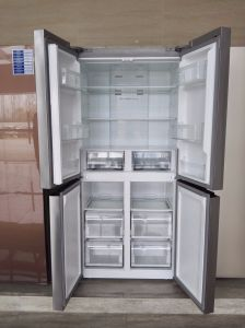 Four Door Frost Free Stainless Steel Refrigerator pictures & photos