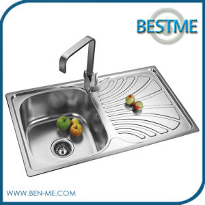 New Arrial Stainless Steel Kitchen Sink (BS-8008) pictures & photos