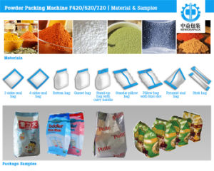 Manufacturer Automatic Flour and Milk Packing Machine with Composite Film pictures & photos