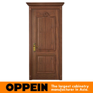 Oppein Classical Wood Veneer Swing Interior Door (YDE003D) pictures & photos