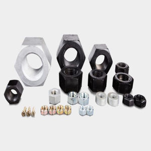 Uni 5587 Carbon Steel Hex Nuts Class8 Black pictures & photos