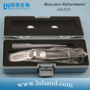 Lohand Original High Quality Optical Instrument Bean Juice Refractometer (LH-D25) pictures & photos