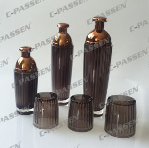 New Crystal Brown Acrylic Lotion Bottle for Cosmetic Packaging (PPC-ALB-045) pictures & photos