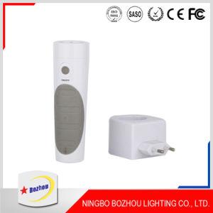 Hot Sale Cheap White Wall Plug Night Light Sensor pictures & photos