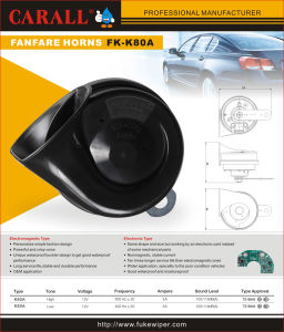 Hella Type Electric Horn Car Speaker Music Air Horn E-MARK, CCC Approved pictures & photos
