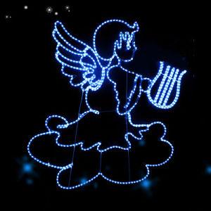 LED Navidad Xmas Ornament Angel Lights pictures & photos