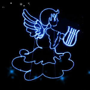 Navidad Xmas Ornament Angel Lights pictures & photos