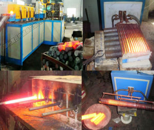 Steel Aluminum Bar Rod Forging with IGBT Induction Heating Machine pictures & photos
