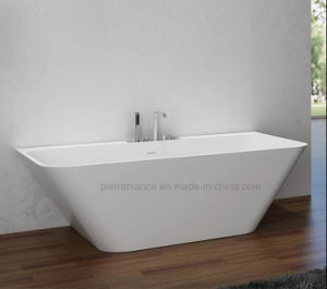 Corian Solid Surface Bathtub with Ce and Cupc Approval (PB1045M) pictures & photos