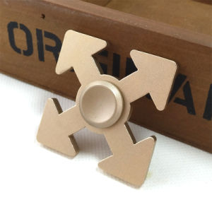 Four-Leaf Arrows Aluminium Alloy Hand Finger Spinner pictures & photos