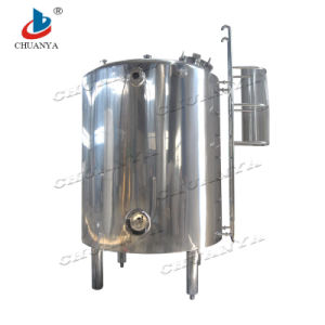 Pressure High Flow Stainless Steel Mobile Storage Tank pictures & photos