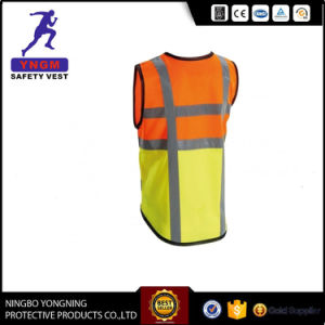 100% Polyester High Visibility Reflective Work Vest / Clothes pictures & photos