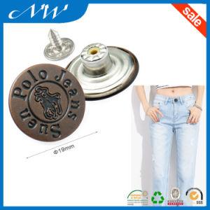 19mm a/Copper Color Metal Buttons Jeans Button