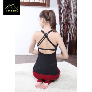 Gym Backless Tank Tops Latest Women Stringer Manufacturer pictures & photos