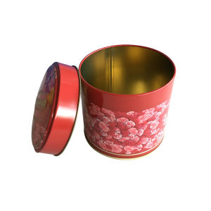 Embossing Pritning Metal Tin Box Packaging Wholesale Tea Packaging pictures & photos