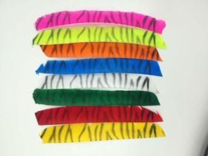 Tiger Stripe Full Length Arrow Feather