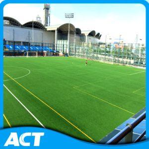 Healthy Environmental Non-Infilled Artificial Football Grass Soccer Sports Grass Y30-R pictures & photos