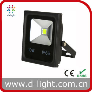 Ultra Slim 85-265V IP65 Outdoor Use COB 10W LED Floodlight pictures & photos