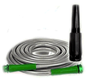 50FT 304 Stainless Steel Gardon Hose with Nozzle Head pictures & photos