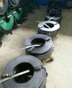 Black Painted Steel Strapping for Packing pictures & photos