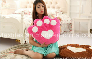 Wholesale OEM 100% Micro Fiber Cartoon Bear Seat Cushion pictures & photos
