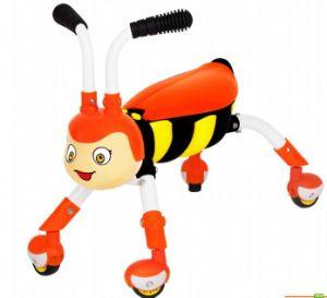 Baby Outdoor Toy Twist Swing Bee Honeybee Baby Kick Scooter pictures & photos
