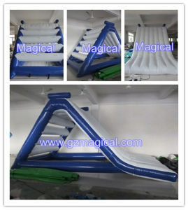 Exciting Playing Inflatable Water Slide Freefall Inflatable Slide Water Games (MIC-436) pictures & photos