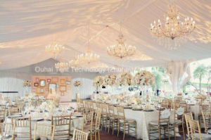 10m Clear Span Beautiful and Romantic Wedding Tent Hold 300 People