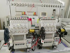 Wonyo 2 Heads Computer Embroidery Machine Multi-Function Embroidery Machine Best China Price pictures & photos