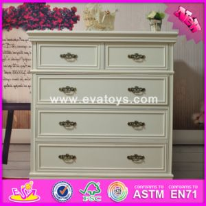 2016 Wholesale Bedroom Wooden Vanity Cabinets, Solid Wooden Vanity Cabinets, Top Sale Wooden Vanity Cabinets W08h062 pictures & photos