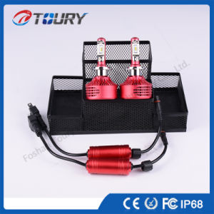 Fanless LED Car Light H4 H7 LED Headlight Bulb pictures & photos