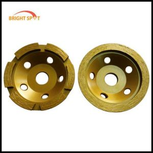 Diamond Stone Polishing for Cup Grinding Wheel pictures & photos