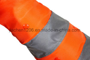 Jiachen Collapsible Traffic Cone with LED Light pictures & photos