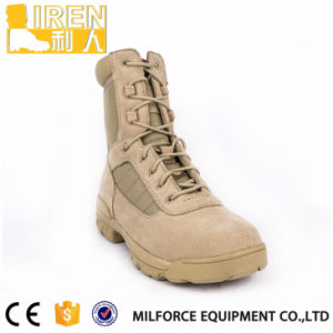 New Style Wholesale Suede Cow Leather Military Desert Boots pictures & photos