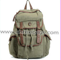 Canvas Backpack Outdoor Leisure Travel