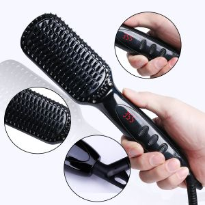 2017 Electric Ceramic Fast Hair Straightener Hair Styling Brush pictures & photos