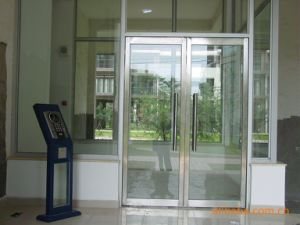 Good Quality for Aluminun Floor Spring Door pictures & photos